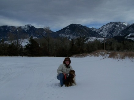 Me and Rae in Paradise Valley MT