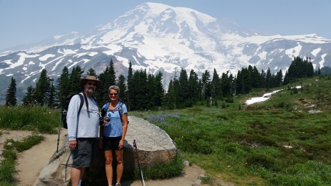 Rainier Mike and Kathy