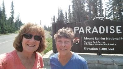 Rainier National Park - Patty and Kristen