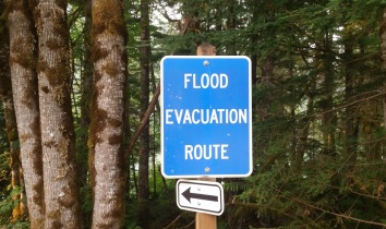 Flood Evacuation Route North Cascade