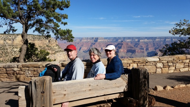 Grand Canyon -  Dave Marty and Kathy