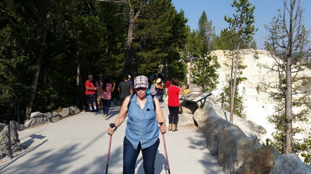 Ginny Rocking Yellowstone