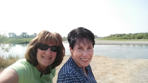 Missouri Headwaters State Park - Patty and Ginny