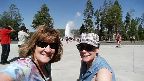 Old Faithful - Patty and Ginny