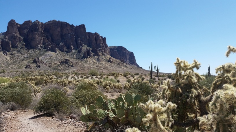 Lost Dutchman State Park, Apache Junction AZ