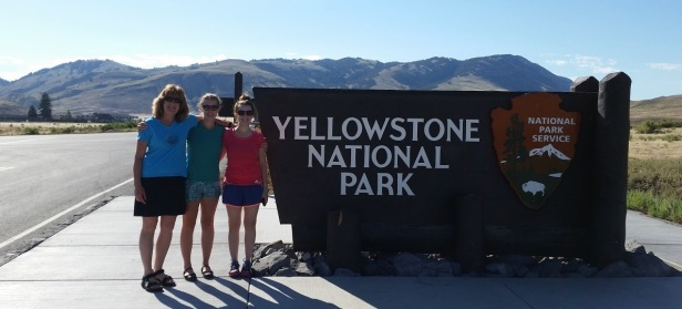 Yellowstone National Park with Katie and Becky