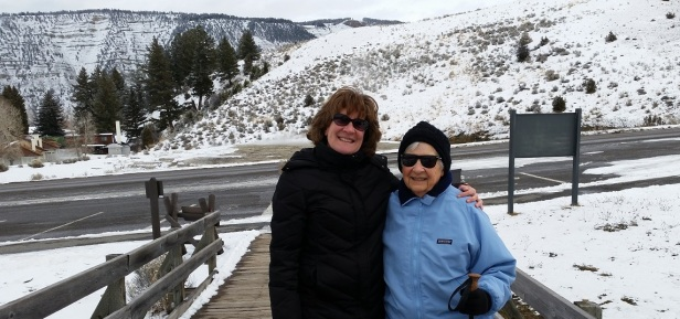 Yellowstone National Park with Mom