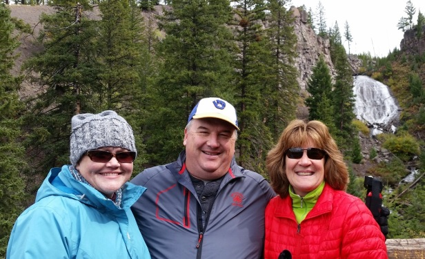 Yellowstone National Park with Danny and Kimberly