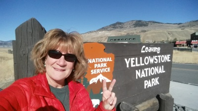 Yellowstone National Park - See ya later!