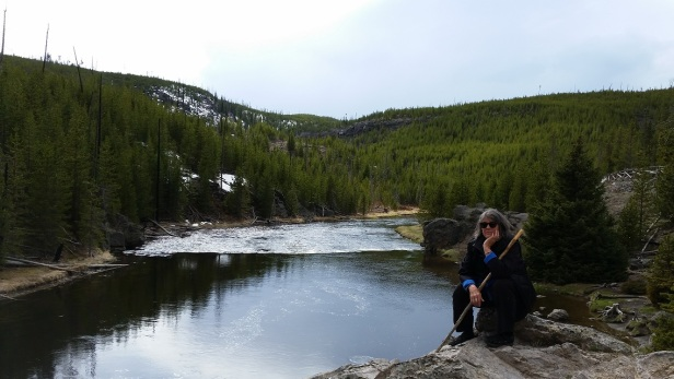 Yellowstone National Park with Sally
