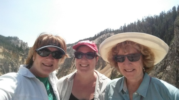 Yellowstone National Park with Mary and Jane
