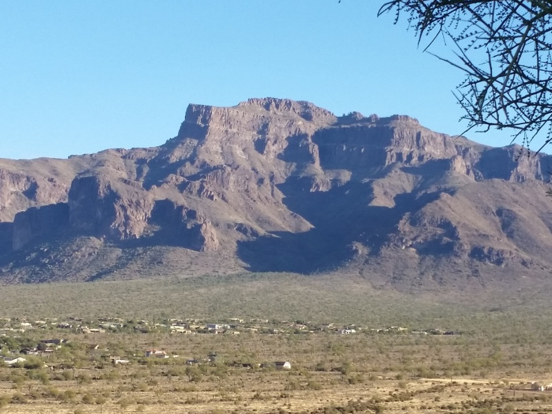 Hiking in the Superstition Mtns